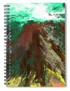 abstract 082511A Spiral Notebook