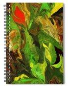 Abstract 090512a Spiral Notebook