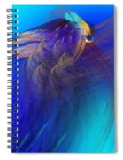 Abstract 090711 Spiral Notebook