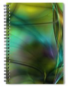 Abstract 090711a Spiral Notebook