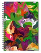 Abstract 090912 Spiral Notebook