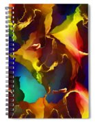 Abstract 091412 Spiral Notebook