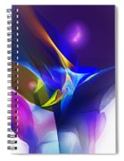 Abstract 091612 Spiral Notebook