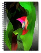 Abstract 091912a Spiral Notebook