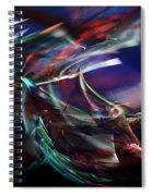 abstract 092111A Spiral Notebook