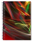 Abstract 092611 Spiral Notebook