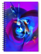 Abstract 092612 Spiral Notebook