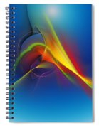 Abstract 101711 Spiral Notebook