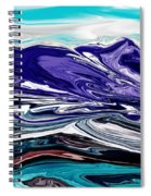 Abstract 102711 Spiral Notebook