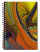 Abstract 110311 Spiral Notebook