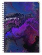 Abstract 112711a Spiral Notebook
