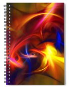 abstract 112811A Spiral Notebook