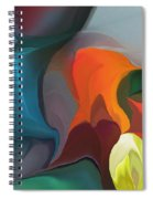 Abstract 122211 Spiral Notebook