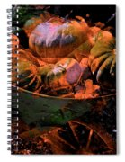 Abstract 123 Spiral Notebook