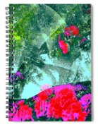 Abstract 127 Spiral Notebook