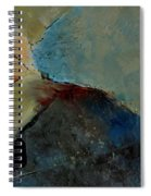 Abstract 170006 Spiral Notebook