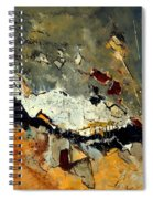 Abstract 1811014 Spiral Notebook