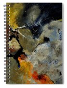 Abstract 181121 Spiral Notebook