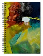 Abstract 1811804 Spiral Notebook