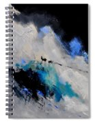 Abstract 1888112 Spiral Notebook
