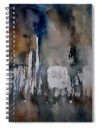 Abstract 213030 Spiral Notebook