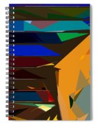 Abstract 22 Spiral Notebook