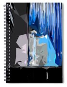 Abstract 23 Spiral Notebook