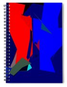 Abstract 25 Spiral Notebook