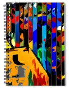 Abstract 26 Spiral Notebook