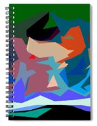 Abstract 28 Spiral Notebook