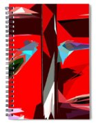 Abstract 30 Spiral Notebook