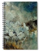 Abstract 66210101 Spiral Notebook