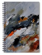 Abstract 66217020 Spiral Notebook