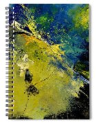 Abstract 66217090 Spiral Notebook
