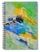 Abstract 6621803 Spiral Notebook