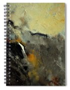 Abstract 68210191 Spiral Notebook