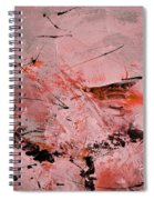 Abstract 691121 Spiral Notebook