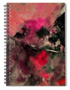 Abstract 69210102 Spiral Notebook