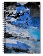 Abstract 69211050 Spiral Notebook