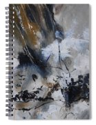 Abstract 692140 Spiral Notebook