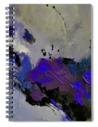 Abstract 69451223 Spiral Notebook
