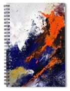 Abstract 6954238 Spiral Notebook