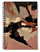 Abstract 69548 Spiral Notebook