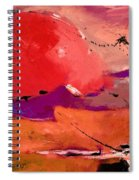 Abstract 695623 Spiral Notebook