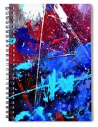 Abstract 71001 Spiral Notebook