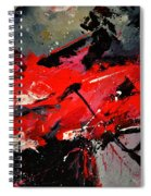 Abstract 71002 Spiral Notebook