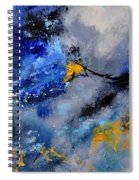 Abstract 771190 Spiral Notebook