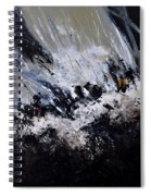 Abstract 7721202 Spiral Notebook