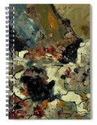 Abstract 7721901 Spiral Notebook