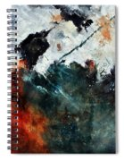 Abstract 881101 Spiral Notebook